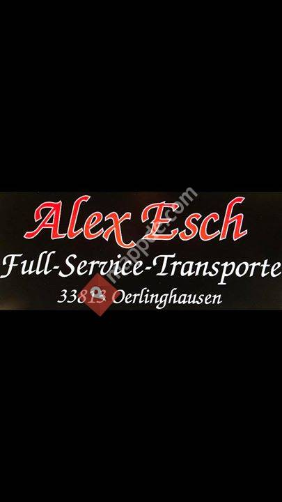 Alex Esch Full-Service-Transporte