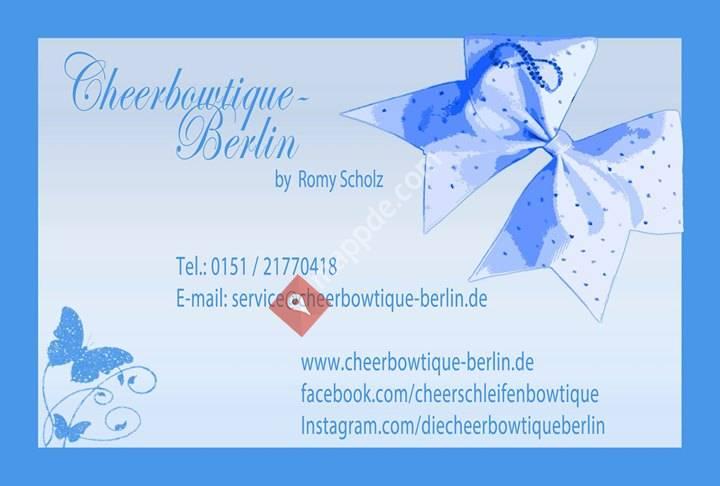 Cheerschleifen-Bowtique
