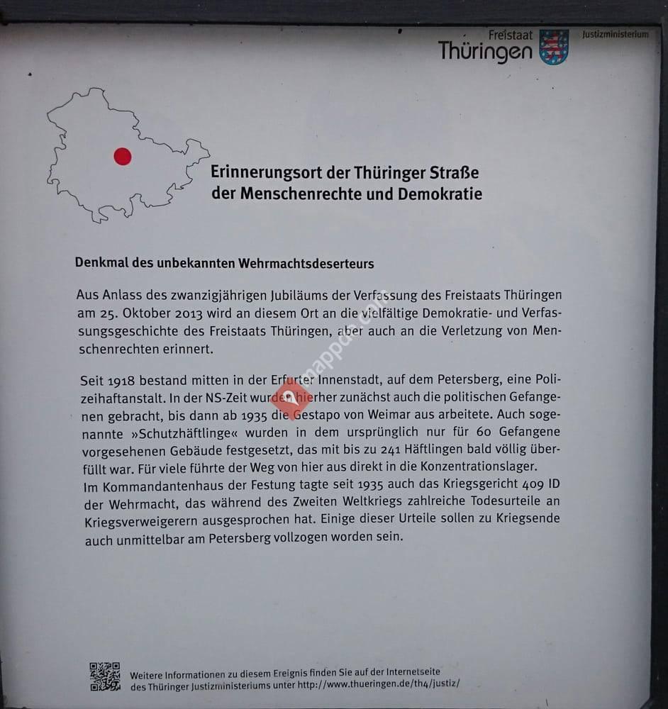 Denkmal für den unbekannten Wehrmachtsdeserteur