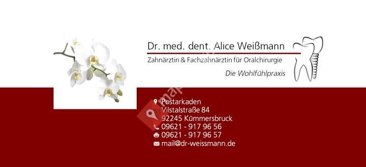 Dr. Alice Weißmann - Zahnärztin/Oralchirurgin