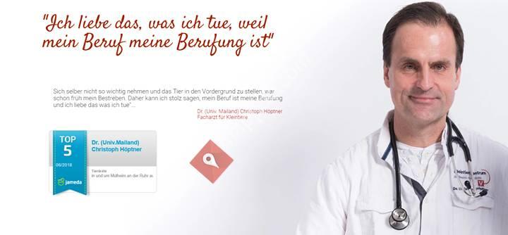 Dr. Christoph Höptner - Fachtierarzt für Kleintiere