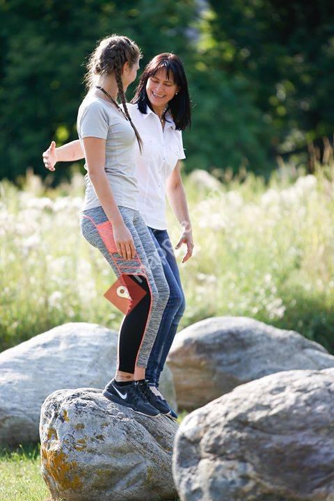 Inge Vogl Simply Upright Gehschule und Haltungsschule