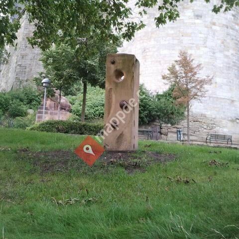 Sandsteinskulptur - Anno 1795