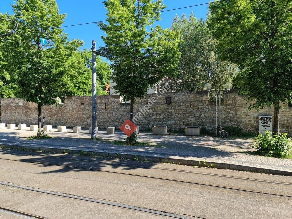 Stadtmauer & Geraeinlauf Rosswehr